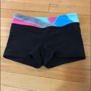 Ivivva reversible rhythmic shorts, size 8.